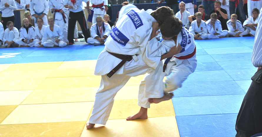 Jugendliche Athletinnen und Athleten traten dabei in zehn verschiedenen Sportarten an. Fotos: Deutsche Schulsportstiftung