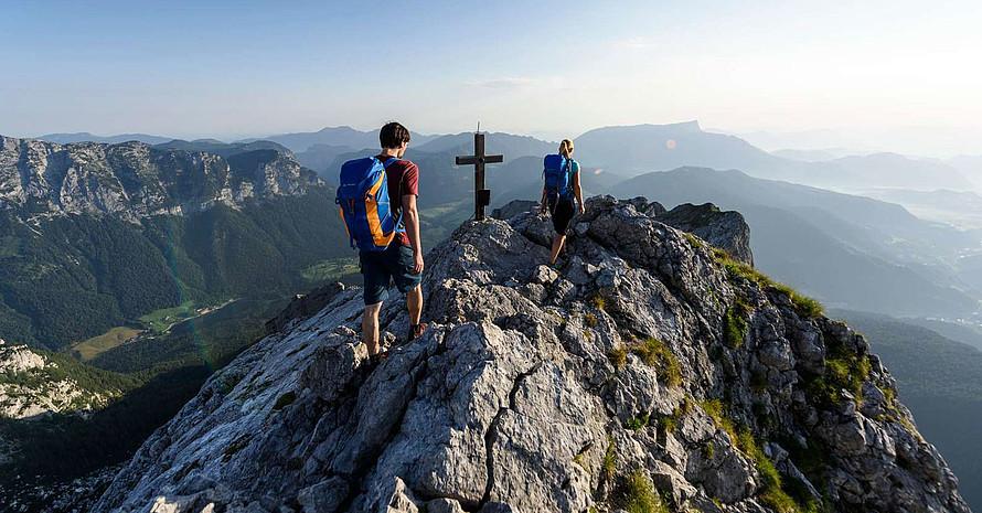 Der DAV empfiehlt Bergsportlerinnen und Bergsportlern, sich bei der Tourenplanung richtig einzuschätzen. Foto: DAV/Wolfgang Ehn