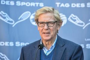Der wiedergewählte Präsident Hans Jakob Tiessen sieht den Sport in Schleswig-Holstein aktuell vor großen Herausforderungen stehen. Foto: LSV S-H/Thomas Eisenkrätzer