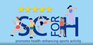 SCforH promotes health-enhancing sports activity
