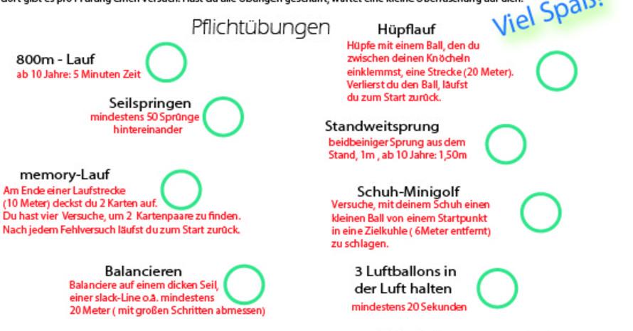 inklusives Handballprojekt mit zusätzlichen sportartübergreifenden Bewegungsangeboten Foto: HSC Rosenstadt Eutin