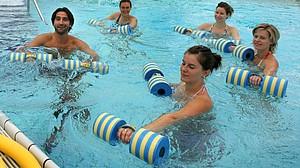 Wasser - ein ideales Element zur Gesundheitsprävention. Copyright: picture-alliance/dpa