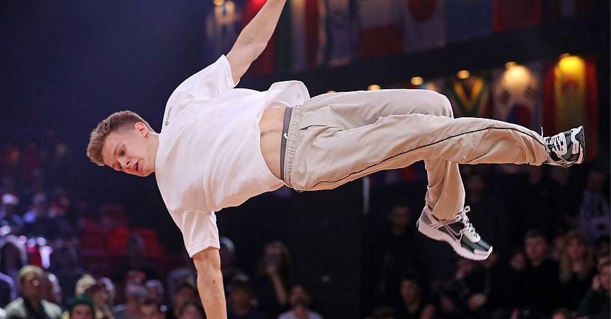 Die Sportart Breaking gehört 2024 zum Wettkampfprogramm der Olympischen Spiele in Paris. Foto: picture-alliance