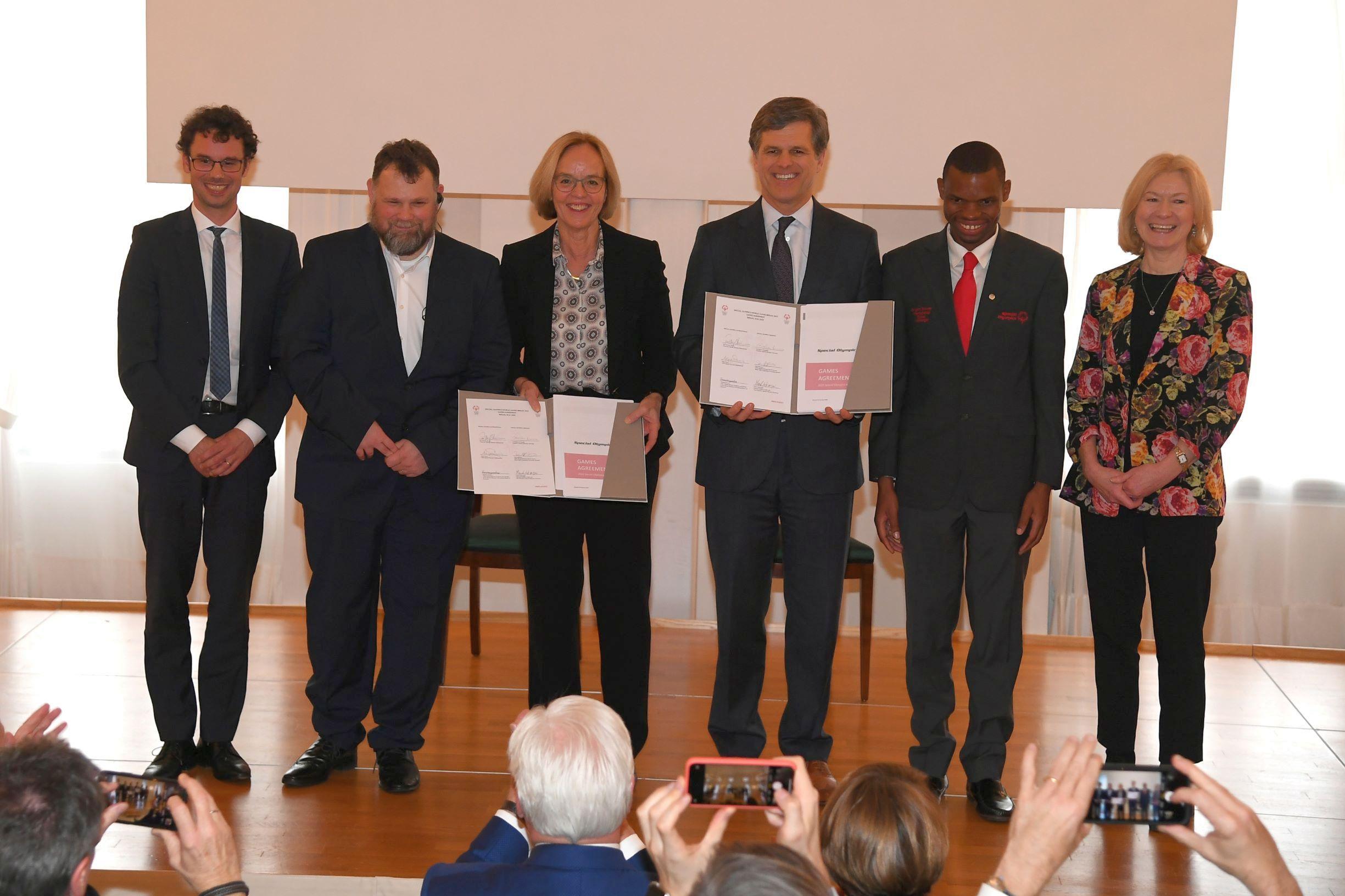 Special Olympics: Berlin jetzt offiziell Gastgeberstadt