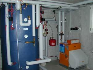 Moderne Heizungsanlagen helfen Energiekosten sparen.