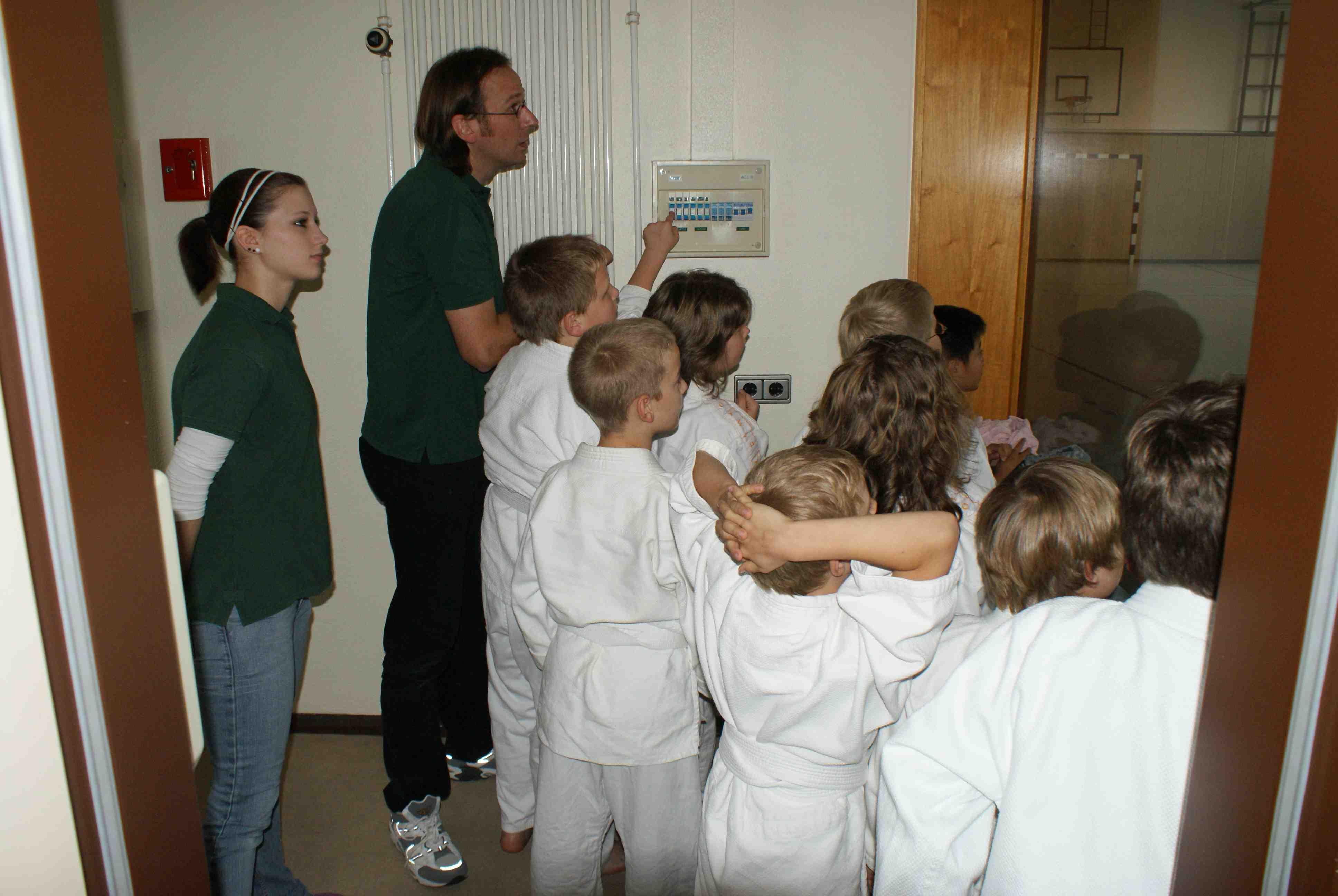 Energiespar-Training mit jungen Judokas (c) Umweltzentrum Hollen