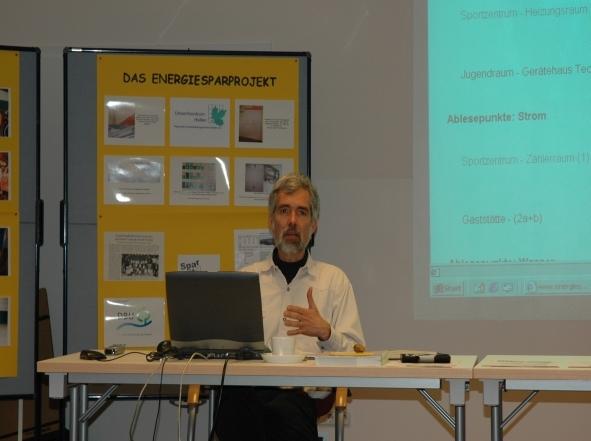 Projektpräsentation Herr von Krosigk (c) von Krosigk