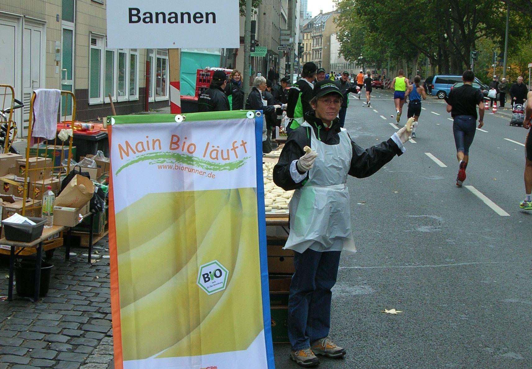 Bananenstand auf der Strecke (c) Umweltforum Rhein-Main e.V.