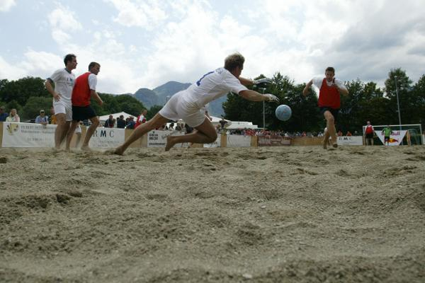 """Beachsoccer"" (c) picture alliance/dpa"