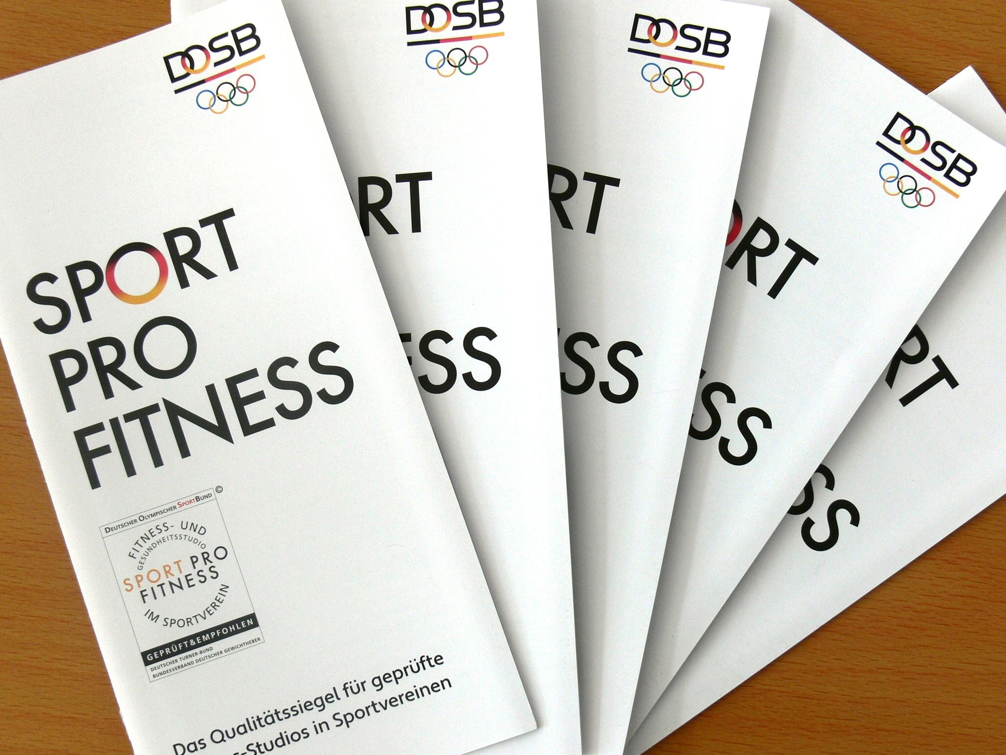 Der neue Info-Flyer SPORT PRO FITNESS