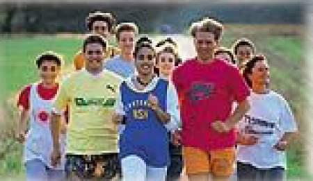 Sportliches Training in den Sommermonaten