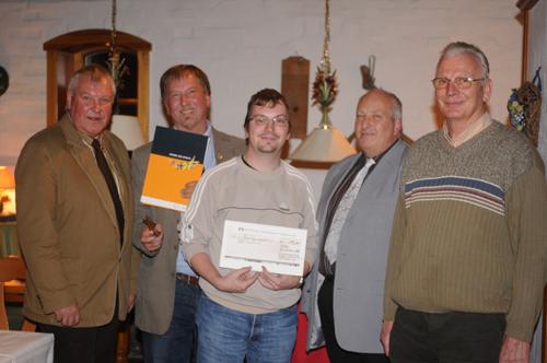 Glückliche Preisträger im Hotel Reichshof (Foto: Stromann)