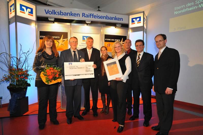 Die Boxer aus Ibbenbüren bei der Auszeichnung in Köln