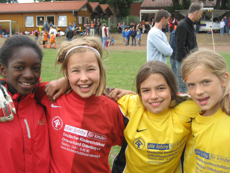 Vier Freundinnen des 1.FC Ohmstede (Foto: 1. FC Ohmstede)