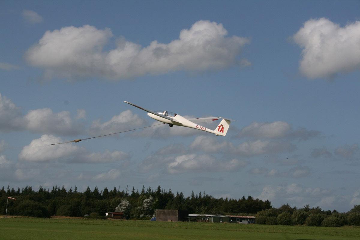 Auf Höhenflug: Die Sportfluggruppe Leck (Foto: Bent Reichert)