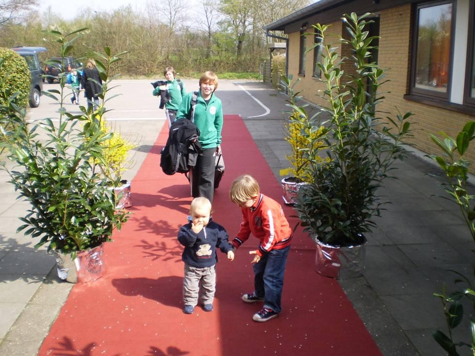 Anreise der Gäste (Quelle: TSV Munkbrarup)