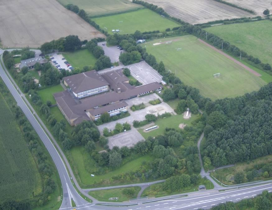 Munkis Palast von oben (Quelle : TSV Munkbrarup)