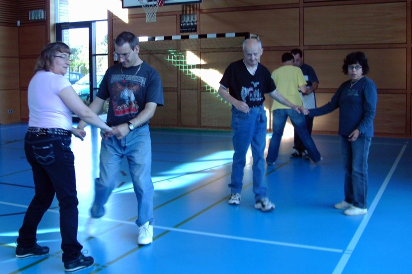 """""""Tanzen als Therapie"""" mit dieser Idee hat der PSV Saar e.V. viele neue Mitglieder gewonnen (Quelle: PSV Saar e.V.)"""
