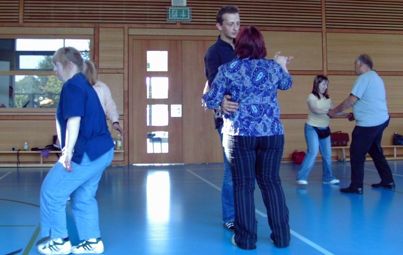 70 Mitglieder mit Handicap freuen sich jede Woche auf ihre Tanzkurse (Quelle: PSV Saar e.V.)