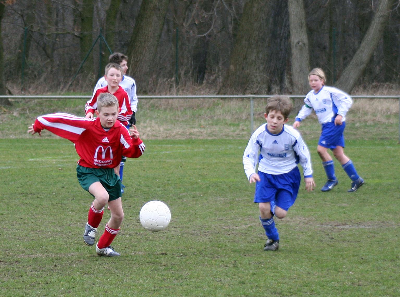 Der Fußball-Nachwuchs vom MSV Neuruppin, dem größten Verein der Region.