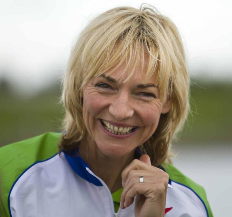 """Heike Drechsler unterstützt die """"Sterne des Sports"""" 2012 in ihrer Heimatstadt Gera. (Foto: Meike Engels)"""