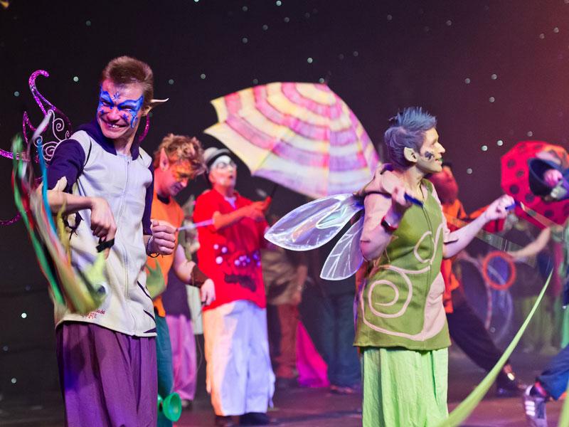 Der Traumzirkus Marsberg begeisterte bei der Special Olympics  Bremen Sportgala 2012 das Publikum. (Foto: Jan Rathke)