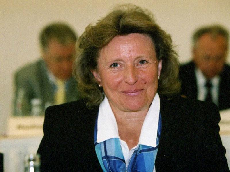 Die Vizepräsidentin des Landessportbundes Berlin (Quelle: LSB)