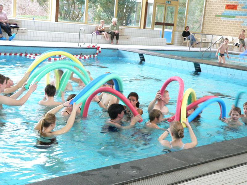 Das örtliche Hallenbad betreiben die Schwimmfreunde Rheurdt e.V. seit einem Jahr erfolgreich selbst. (Quelle: Schwimmfreunde Rheurdt e.V.)