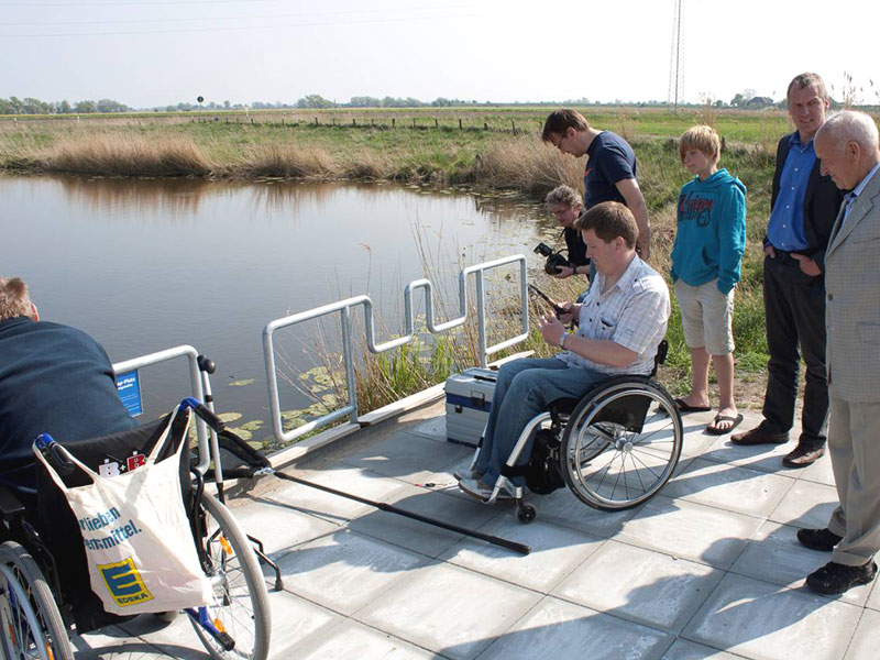 "2011 gewann der Kreisanglerverband Nordfriesland e.V. den ""Stern des Sports"" in Silber. (Foto: Kreisanglerverband)"