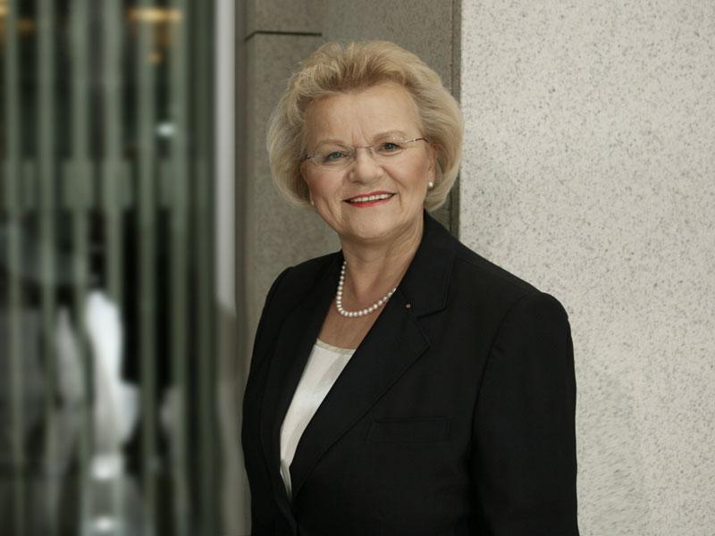 """Die Drogenbeauftragte der Bundesregierung Mechthild Dyckmans engagiert sich seit Jahren für die """"Sterne des Sports"""". (Quelle: Die Drogenbeauftragte der Bundesregierung)"""