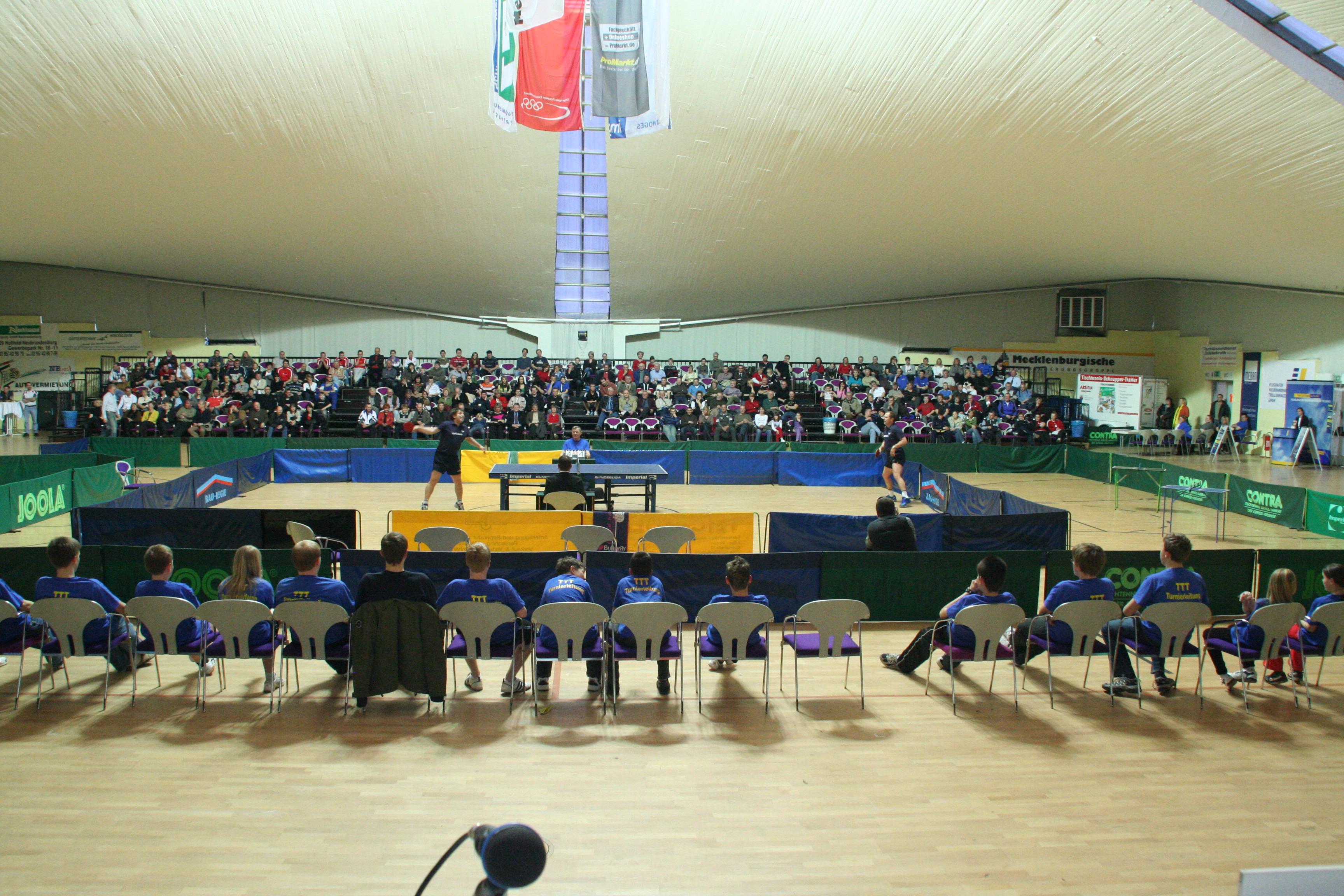 Eröffnung des TTT 2011 (alle Fotos Verein)
