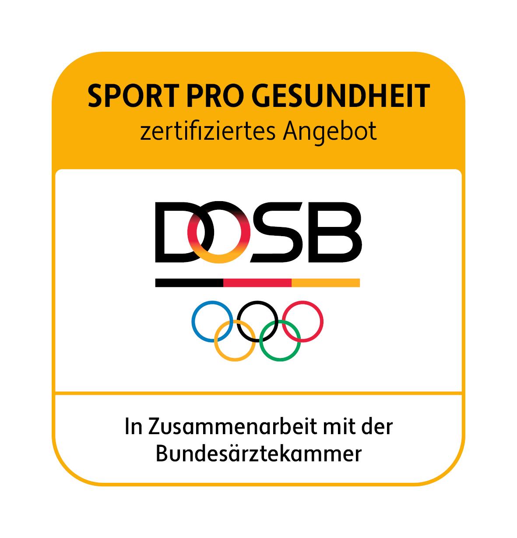 DOSB-Signet SPORT PRO GESUNDHEIT