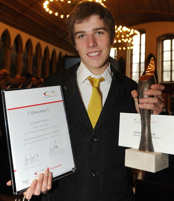 """Eliteschüler des Sports 2010"": Johannes Rydzek. Copyright: picture-alliance"